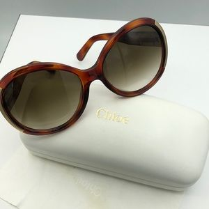Open box chloe sunglasses
